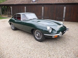 1969 1970 Jaguar E Type Fixed Head Coupe Series 2 SOLD