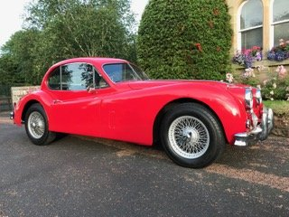 1956 Jaguar XK140 SE Fixed Head Coupe For Sale