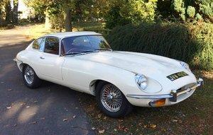 1970 JAGUAR E TYPE S2 FHC  For Sale