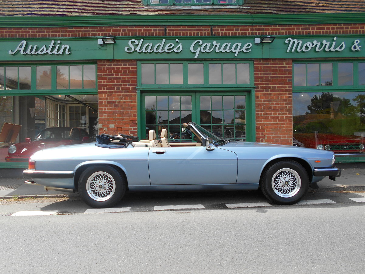 1988 Jaguar XJS 5.3 V12 Convertible Automatic  SOLD (picture 1 of 6)