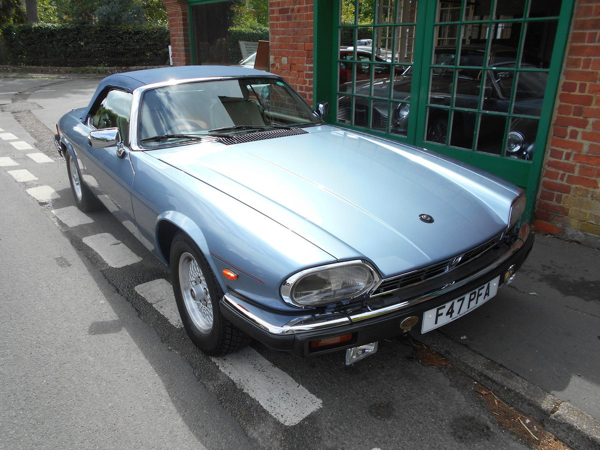 1988 Jaguar XJS 5.3 V12 Convertible Automatic  SOLD (picture 2 of 6)