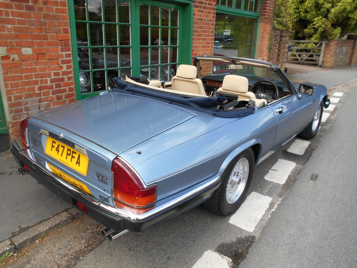 1988 Jaguar XJS 5.3 V12 Convertible Automatic  SOLD (picture 3 of 6)