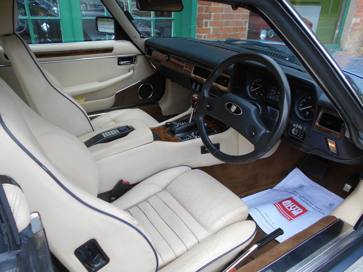 1988 Jaguar XJS 5.3 V12 Convertible Automatic  SOLD (picture 4 of 6)