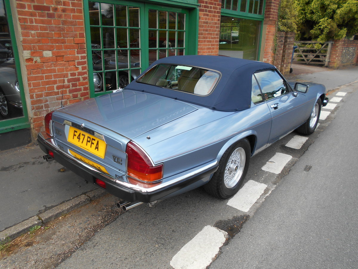 1988 Jaguar XJS 5.3 V12 Convertible Automatic  SOLD (picture 5 of 6)