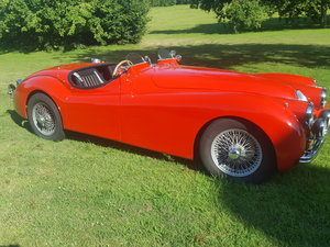 1952 Jaguar XK120 Roadster fully restored and uprated For Sale