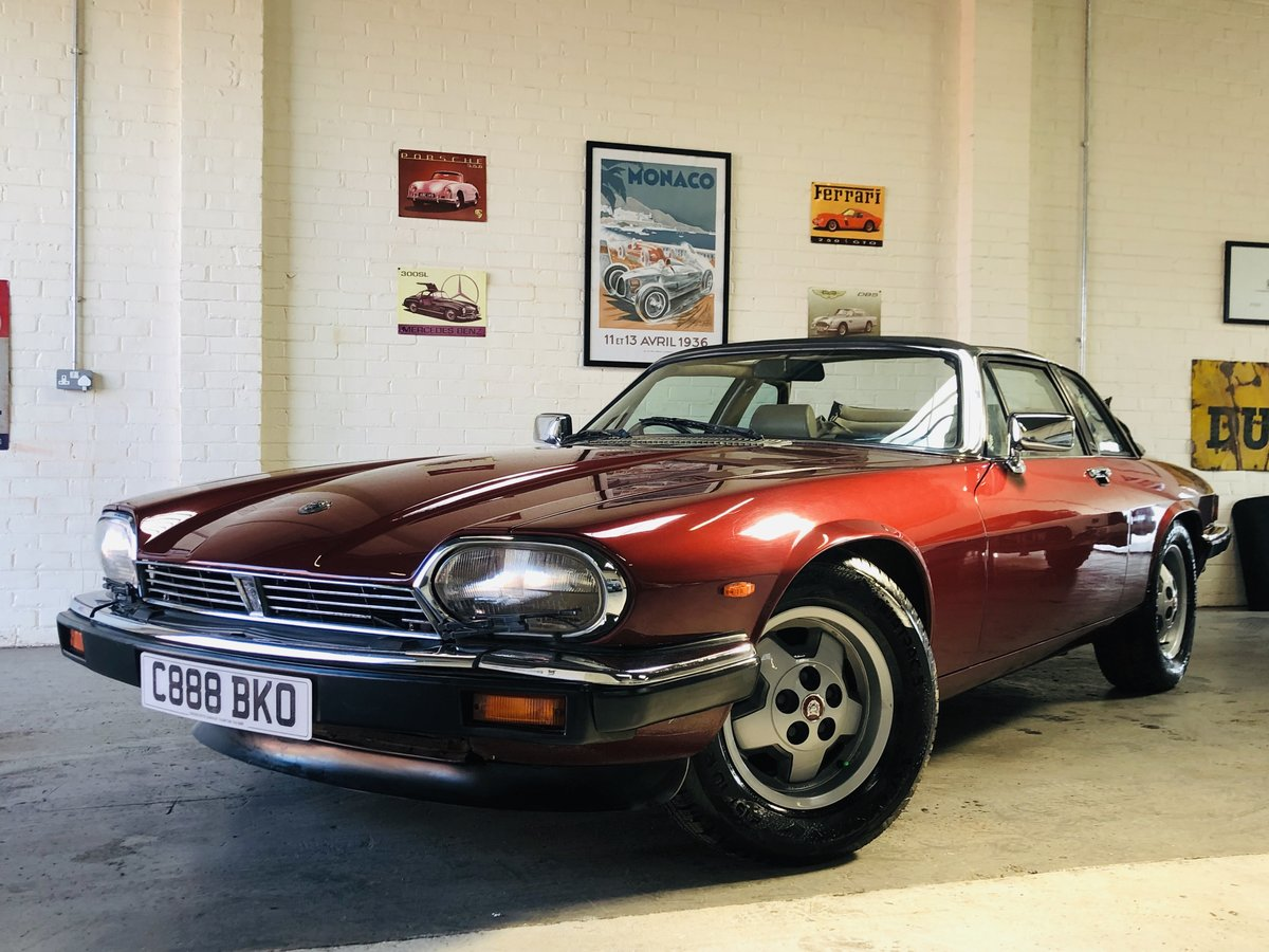 1985 JAGUAR XJS 3.6 MANUAL CABRIOLET - 2 OWNERS, PX WELCOME SOLD (picture 1 of 6)