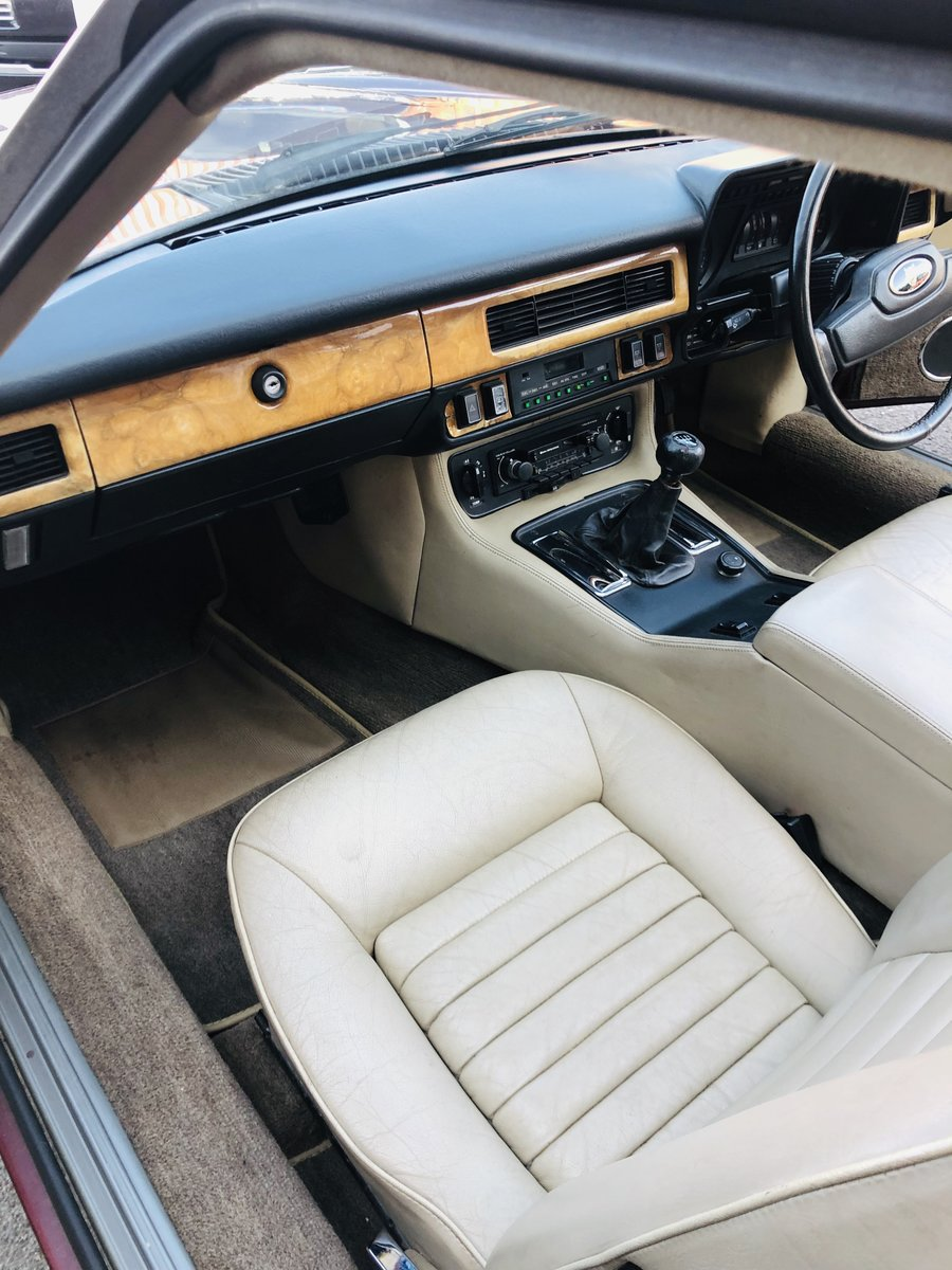 1985 JAGUAR XJS 3.6 MANUAL CABRIOLET - 2 OWNERS, PX WELCOME SOLD (picture 4 of 6)