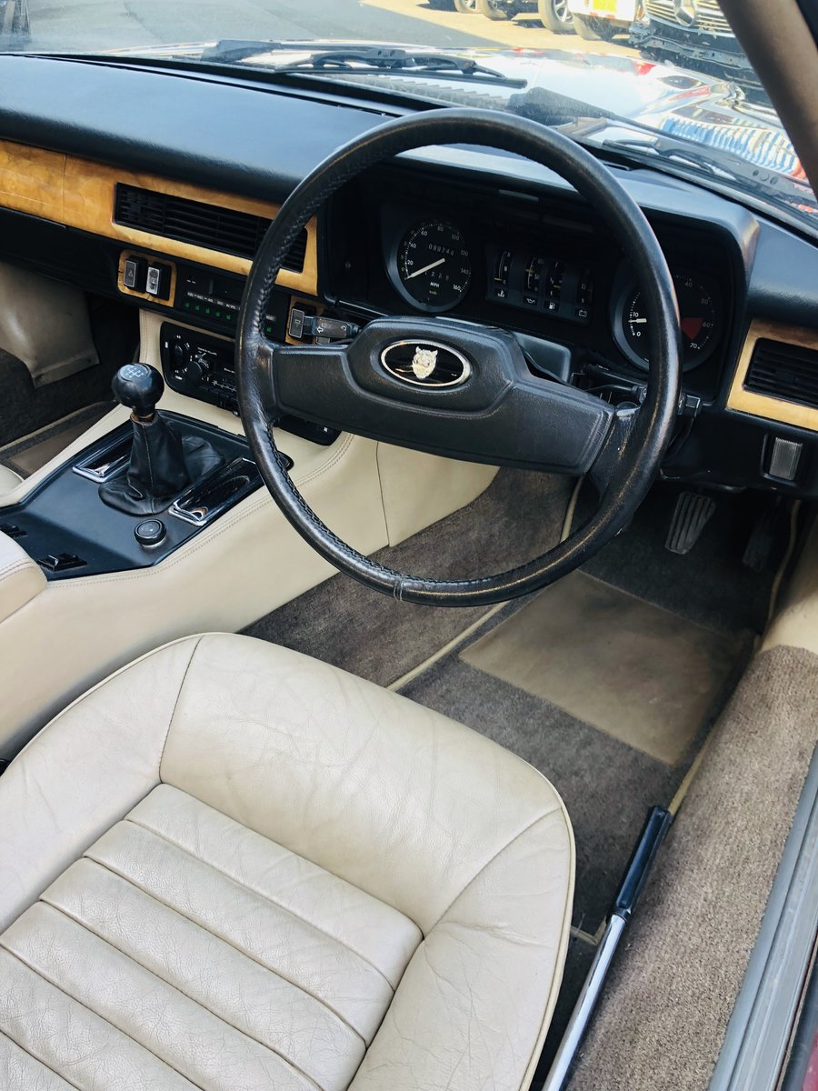 1985 JAGUAR XJS 3.6 MANUAL CABRIOLET - 2 OWNERS, PX WELCOME SOLD (picture 5 of 6)