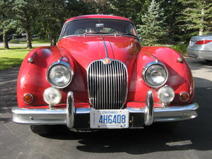 1958 Jaguar XK150 fhc Left hand drive  For Sale