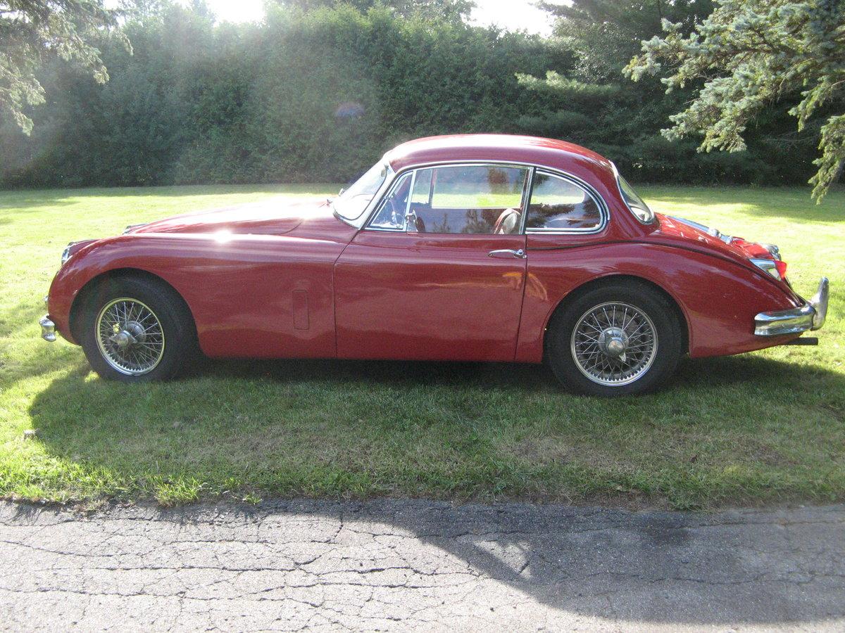 1958 Jaguar XK150 fhc Left hand drive  For Sale (picture 4 of 6)
