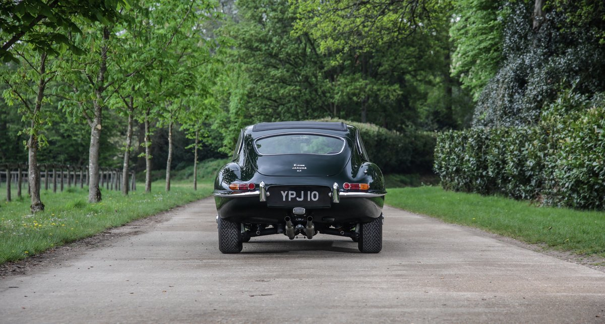 1965 Jaguar E-Type 4.2 Series 1 Fixed Head Coupe For Sale (picture 4 of 8)