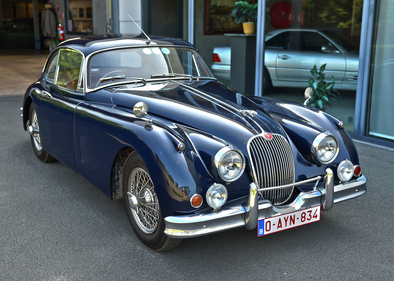 1957 Jaguar XK150 RHD FHC For Sale (picture 1 of 6)