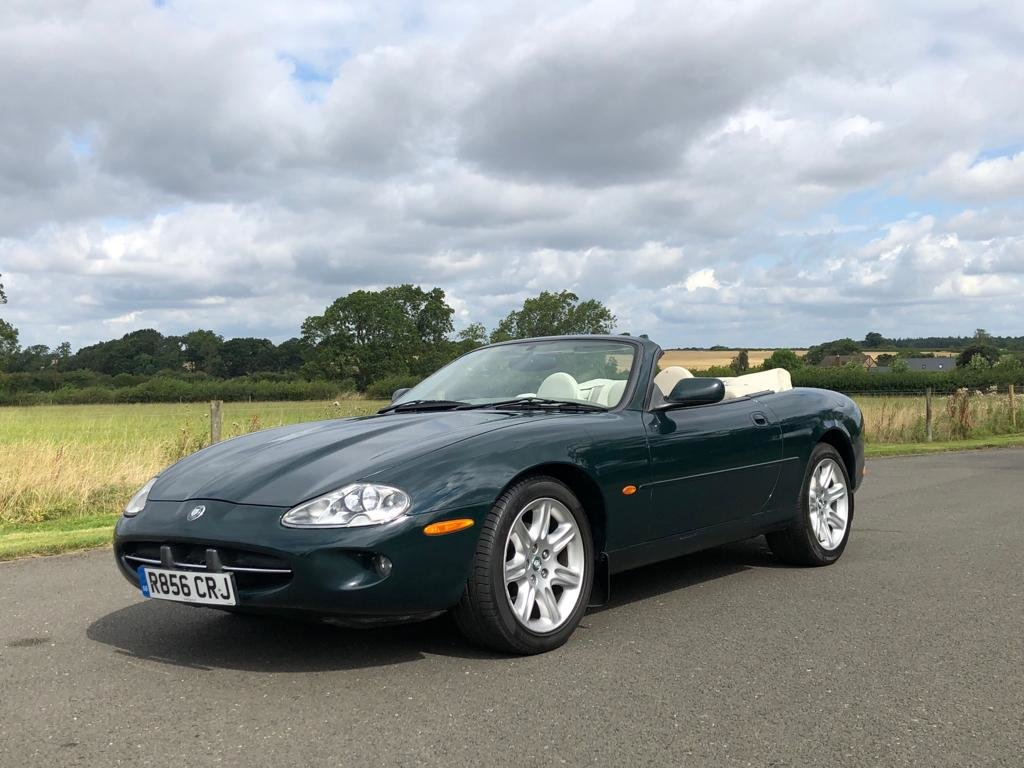 1998 Jaguar XK8 Convertible Automatic SOLD (picture 1 of 6)