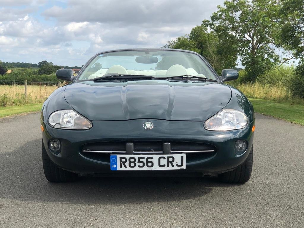 1998 Jaguar XK8 Convertible Automatic SOLD (picture 2 of 6)
