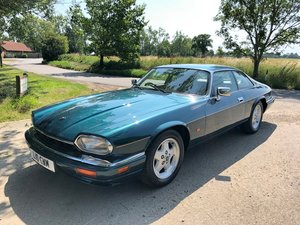 Jaguar XJS facelift 1993