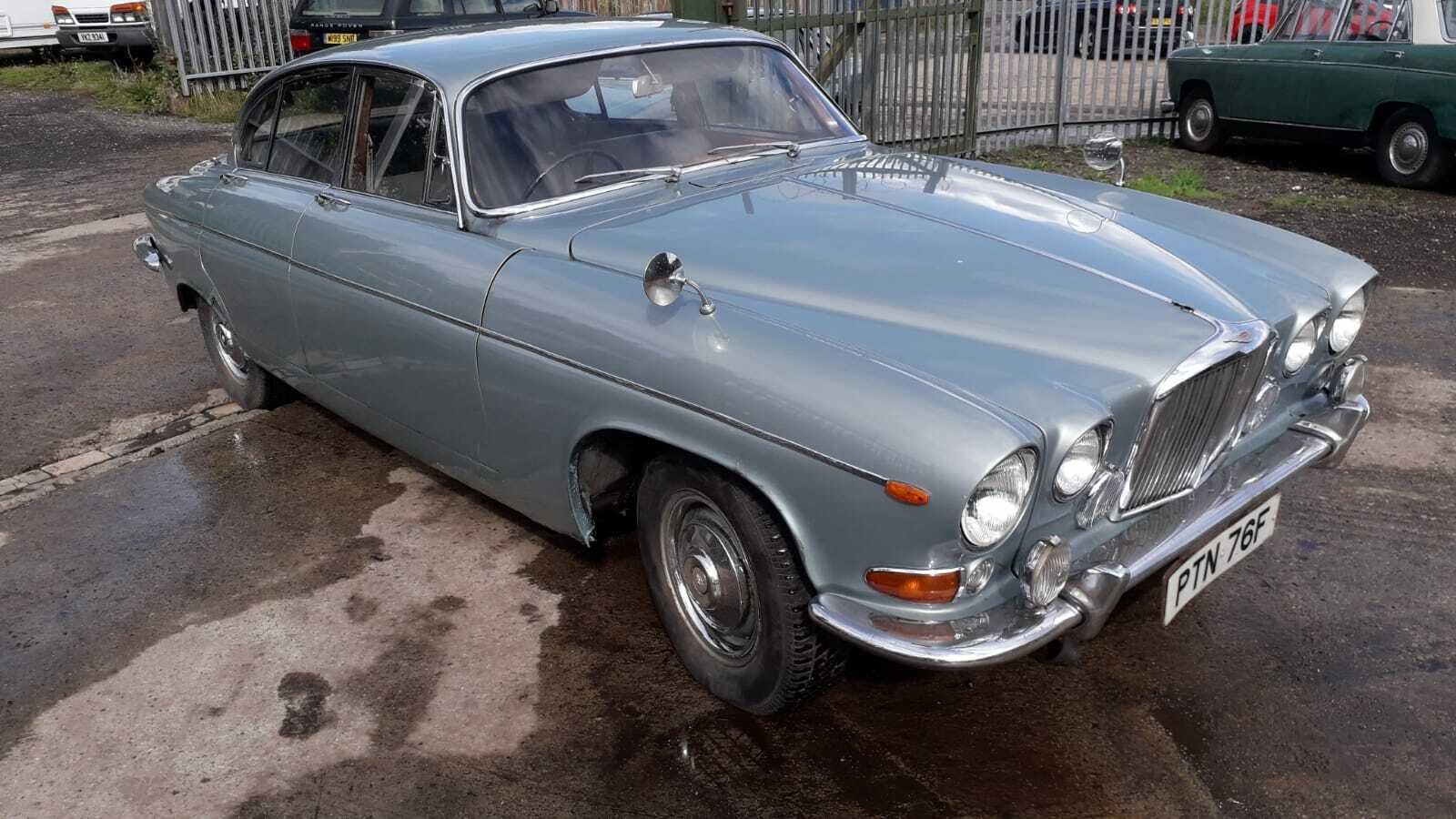 1968 JAGUAR 420 G MK10 TAX & MOT EXEMPT WORTHWHILE PROJECT  SOLD (picture 1 of 6)