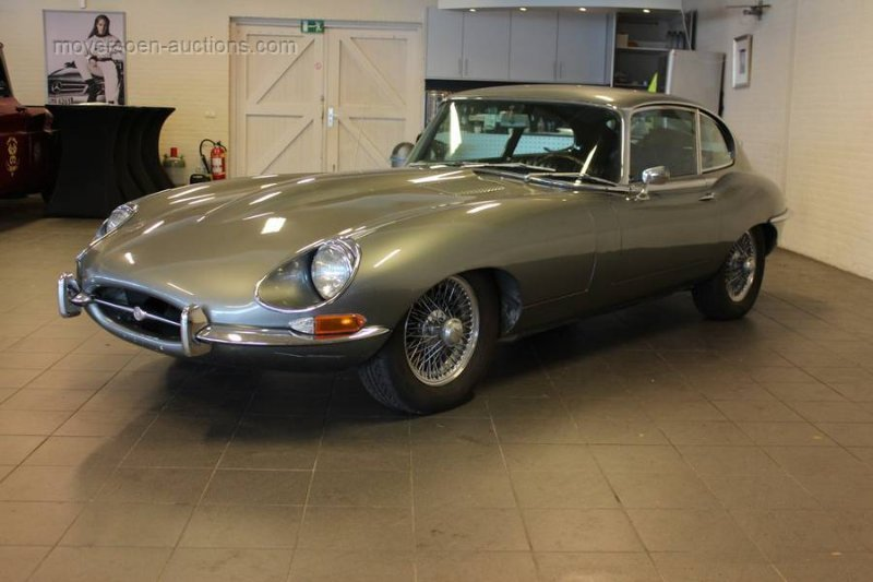 1968 JAGUAR E-type 4.2 coupe For Sale by Auction (picture 1 of 6)