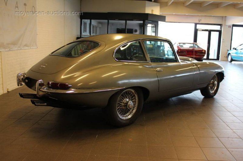 1968 JAGUAR E-type 4.2 coupe For Sale by Auction (picture 3 of 6)