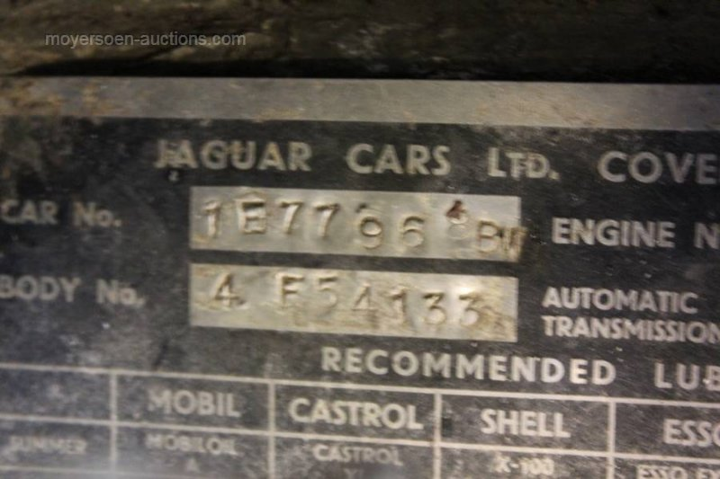 1968 JAGUAR E-type 4.2 coupe For Sale by Auction (picture 6 of 6)
