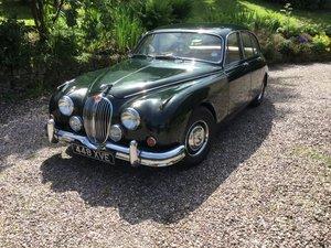 1962 Jaguar mk 2 automatic dark BRG