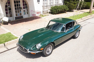 Jaguar E-Type Coupe Series III 2+2 V12 4-speed AC Green $obo For Sale