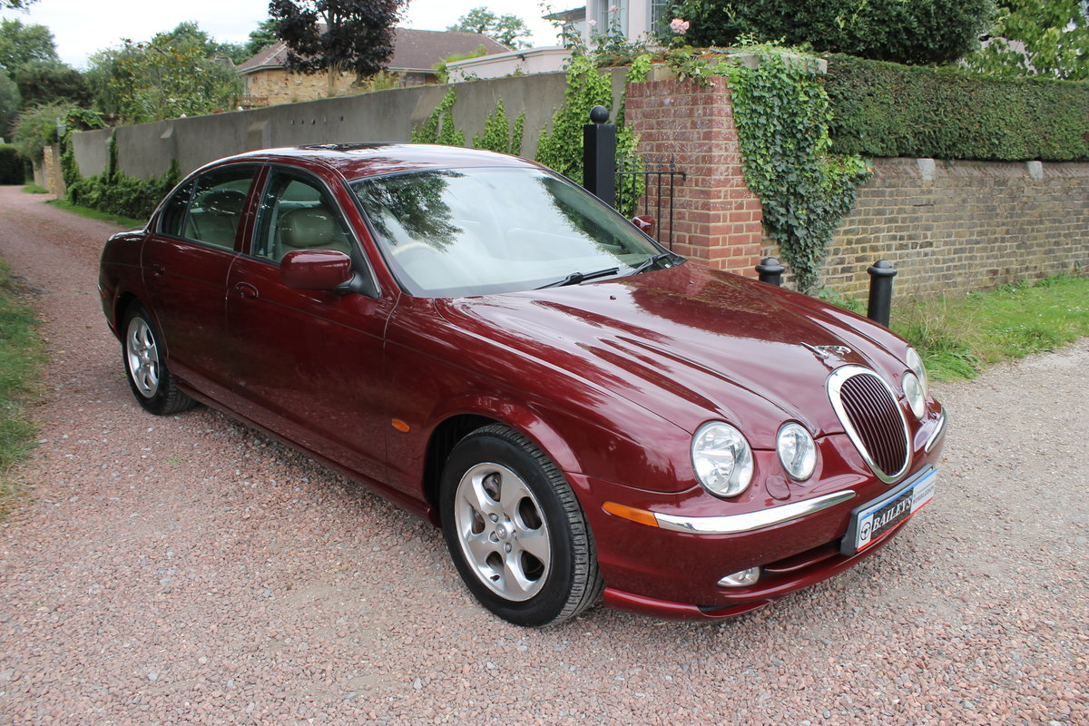 2000 Jaguar 'S' Type 3.0 SE Automatic Series I For Sale (picture 1 of 6)