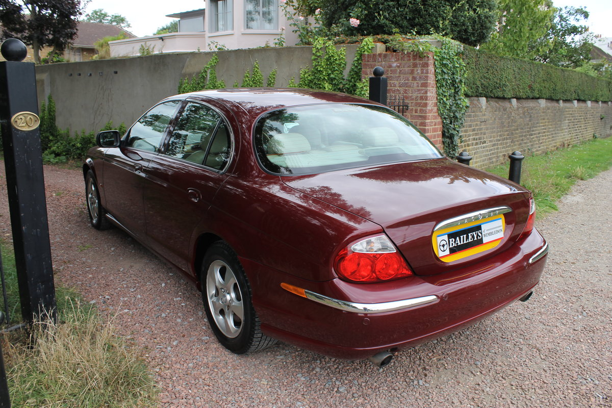 2000 Jaguar 'S' Type 3.0 SE Automatic Series I For Sale (picture 4 of 6)