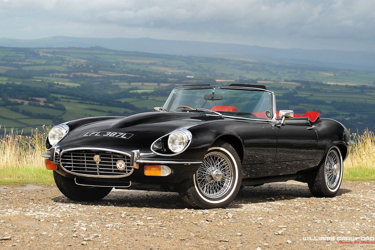 1973 Jaguar E Type Series III Roadster For Sale (picture 1 of 6)