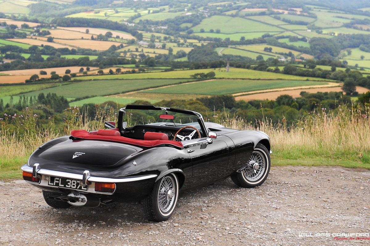 1973 Jaguar E Type Series III Roadster For Sale (picture 2 of 6)