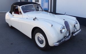 1953 JAGUAR XK 120 DROPHEAD COUPE For Sale