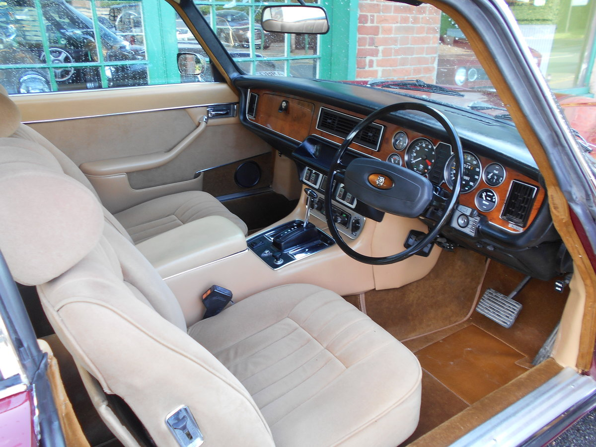 1978 Jaguar XJ 5.3 V12 Coupe Automoatic  SOLD (picture 4 of 5)