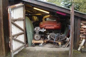 1965 Jaguar E-Type coupe restoration project For Sale