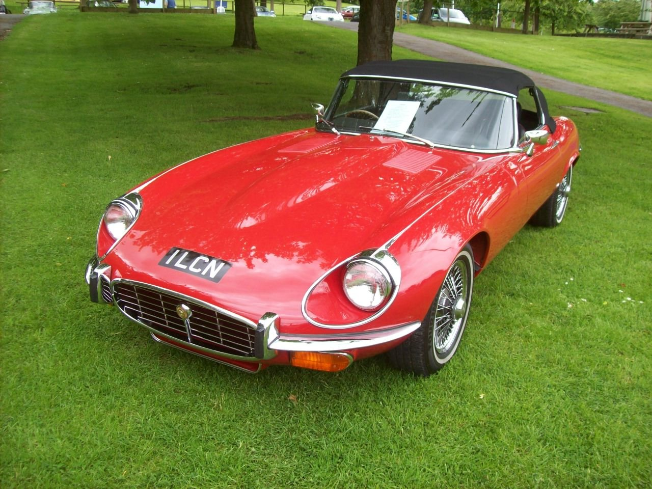 1972 JAGUAR V12 E TYPE Convertible For Sale (picture 1 of 5)