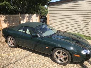2000 Supercharged Jaguar XKR