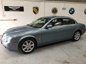 2005 Jaguar S Type 1 owner from new, outstanding condit