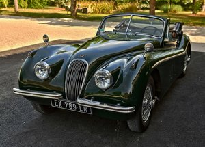 1000 1953 Jaguar XK120 Drop Head Coupe, Left Hand Drive For Sale