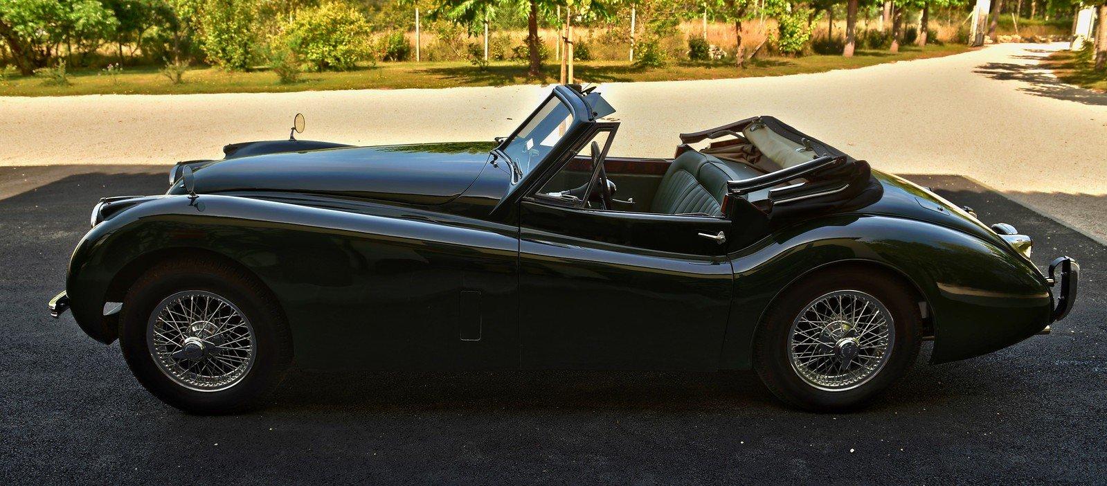 1000 1953 Jaguar XK120 Drop Head Coupe, Left Hand Drive For Sale (picture 2 of 6)