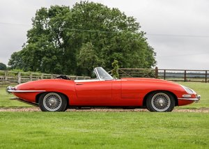 1961 Jaguar E-Type Series I Roadster Flat Floor For Sale by Auction