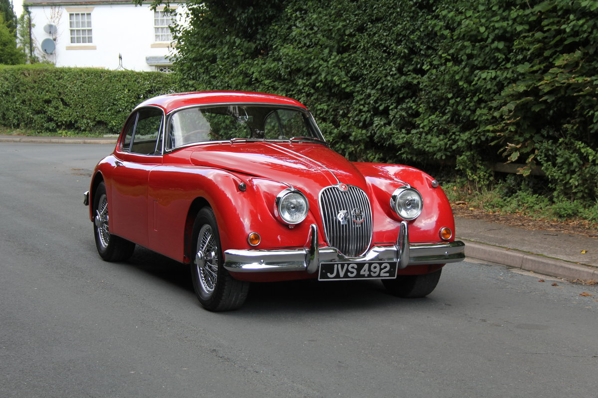 1957 Jaguar XK150 3.4 FHC, Matching No's & Colours For Sale (picture 1 of 19)