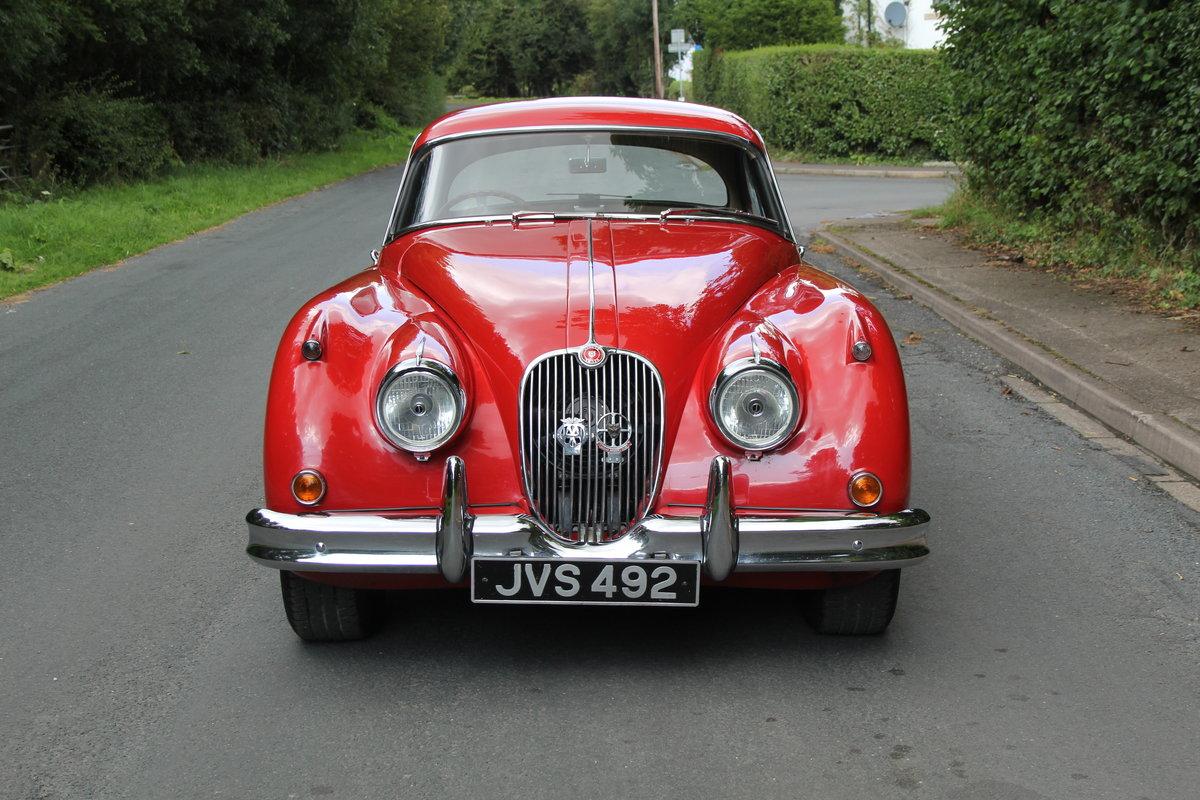 1957 Jaguar XK150 3.4 FHC, Matching No's & Colours For Sale (picture 2 of 19)