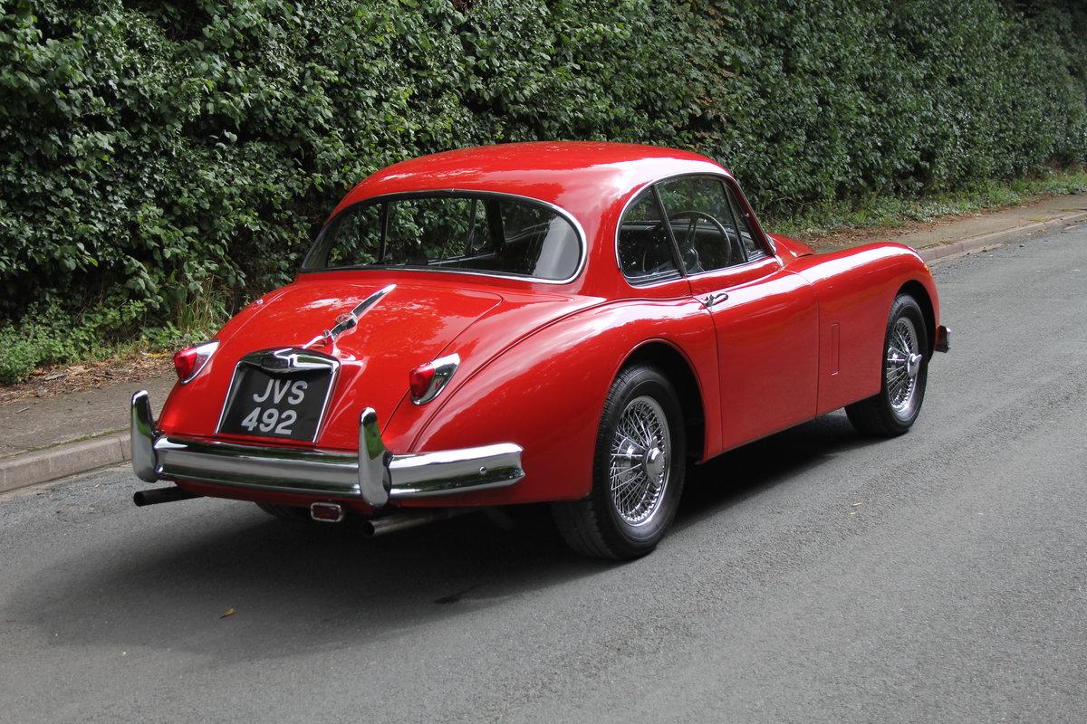 1957 Jaguar XK150 3.4 FHC, Matching No's & Colours For Sale (picture 4 of 19)