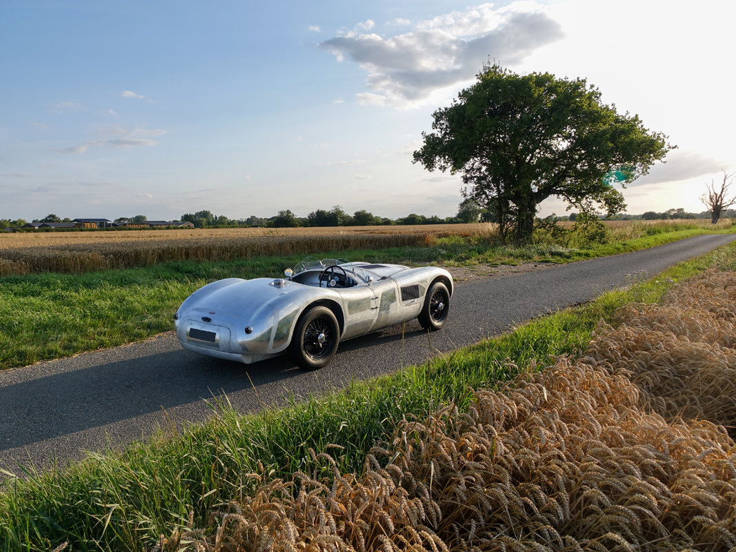 1953 Aluminium Suffolk C-type Jaguar with 4.2 fuel injection  For Sale (picture 4 of 6)