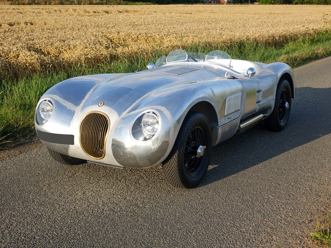 1953 Aluminium Suffolk C-type Jaguar with 4.2 fuel injection  For Sale (picture 3 of 6)
