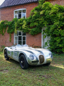 Aluminium Suffolk C-type Jaguar with 4.2 fuel injection