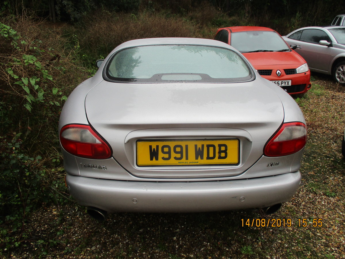 2000 XK8 COUPE 4LTR SPORTS CAR JUST 75,000 MILES F.S.H MOT AUGUST For Sale (picture 2 of 6)