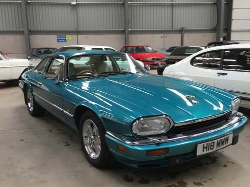1996 Jaguar XJ-S at Morris Leslie Auction 17th August SOLD by Auction (picture 1 of 6)