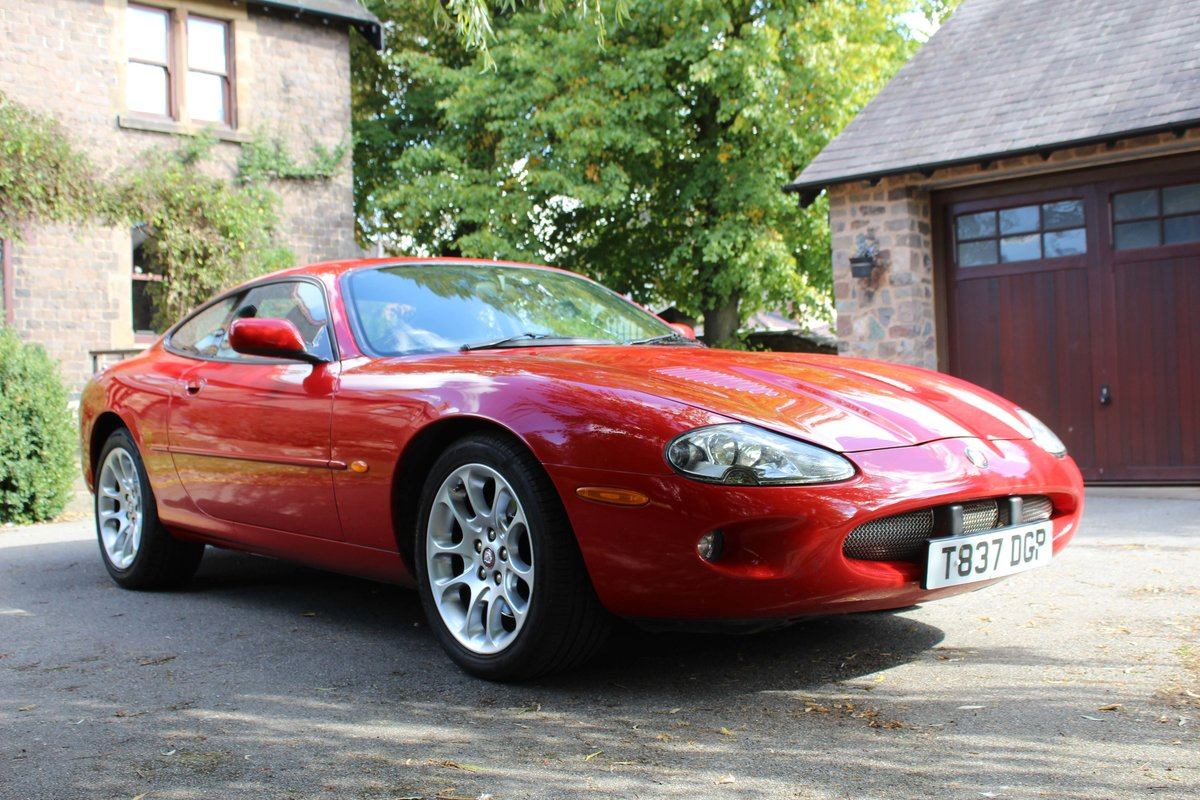 1999 Jaguar XKR 4.0 litre Coupe Price £8000 For Sale (picture 1 of 6)