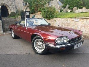 1991 Jaguar XJS V12 5.3 Convertible low mileage For Sale
