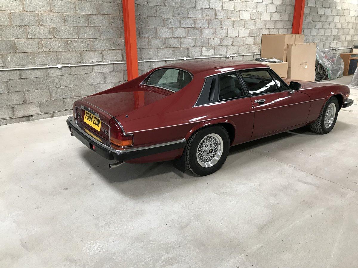 1989 Jaguar XJS V12 auto For Sale (picture 6 of 6)