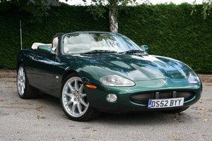 2002 Jaguar XKR Convertible 100 Limited Edition